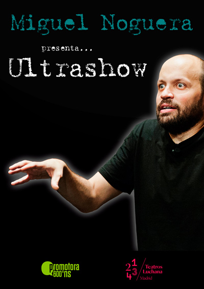 Cartel obra Ultrashow